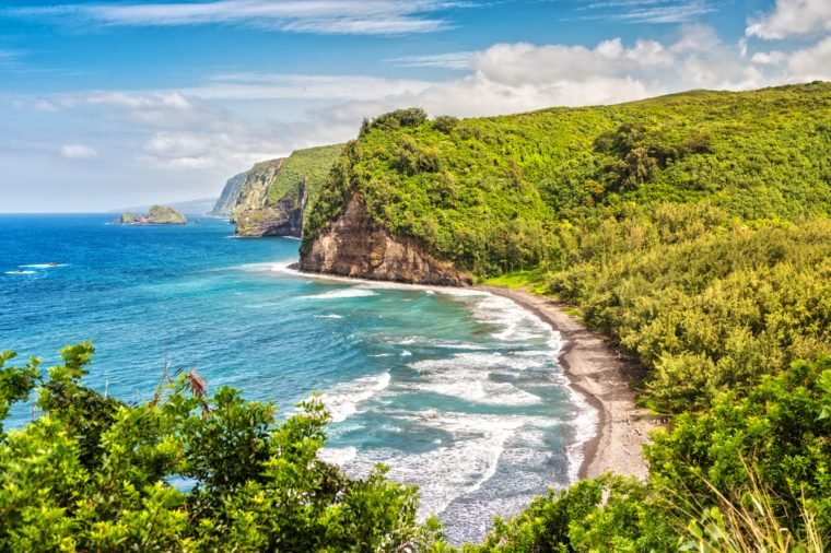 Panoramia View over Pololu Valley
