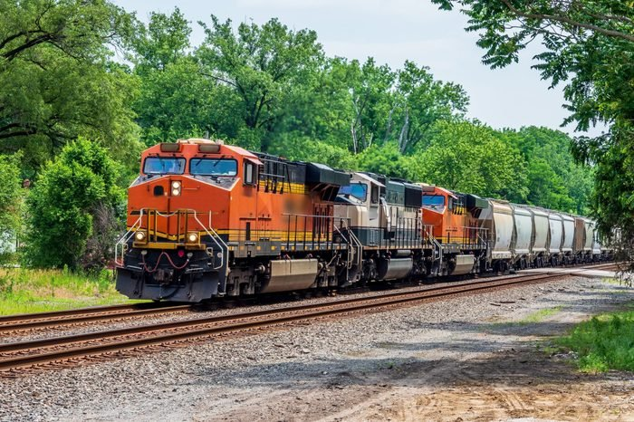 midwest railroad and engines in Indiana