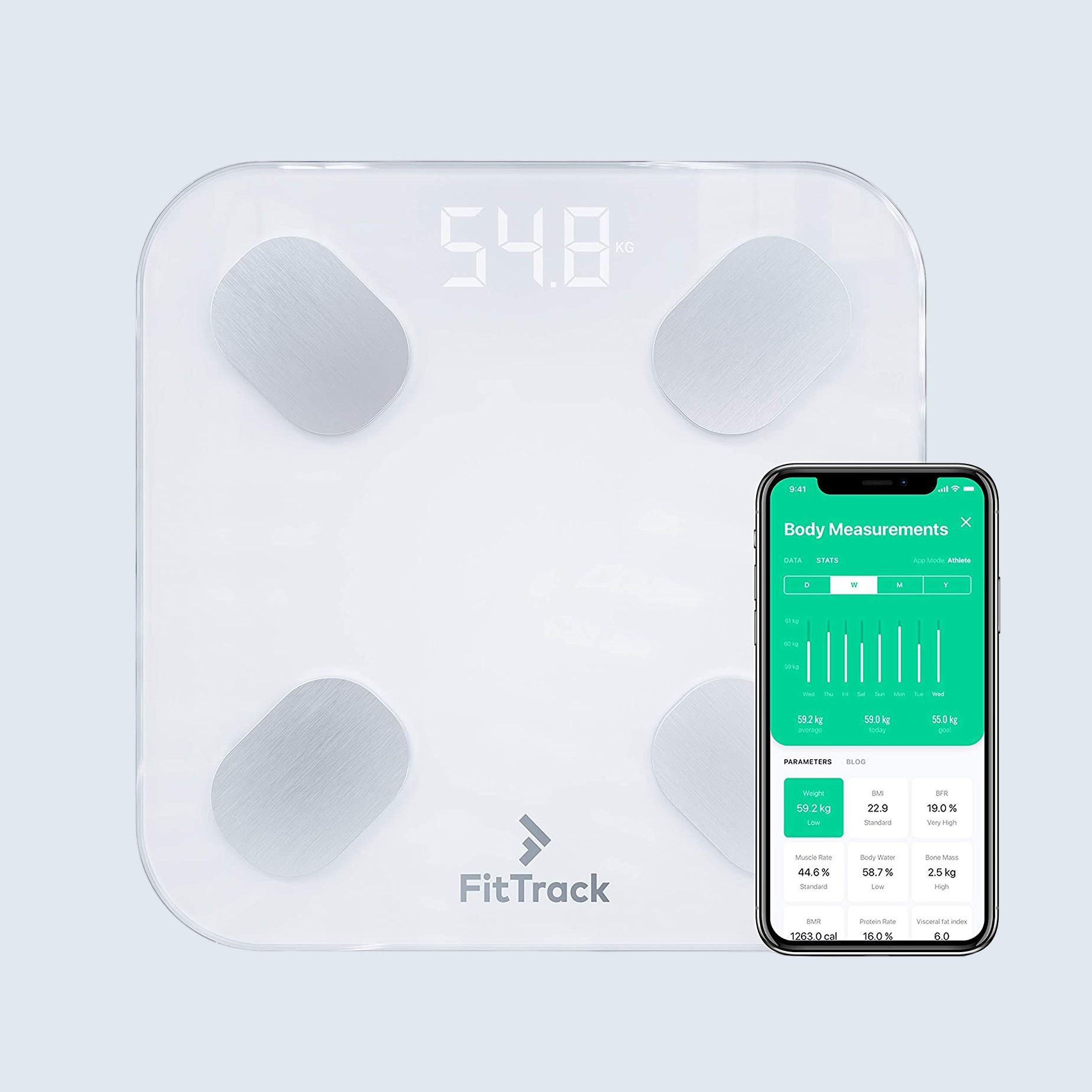 Dara Smart Scale by FitTrack