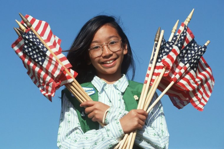 Filipino Girl Scout