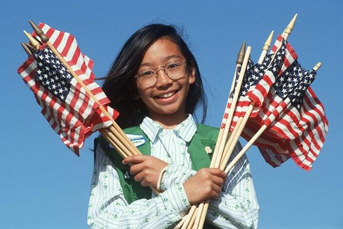Filipino Girl Scout