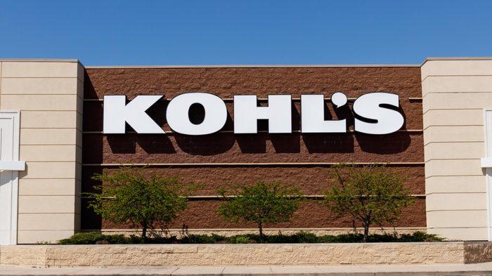 Kohl's Retail Store