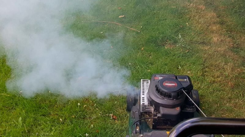 Why Is My Lawn Mower Smoking? | Reader's Digest
