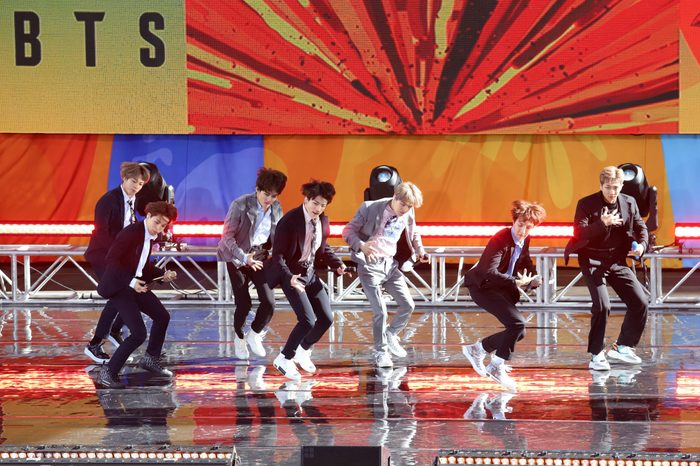 BTS performs on 'Good Morning America'