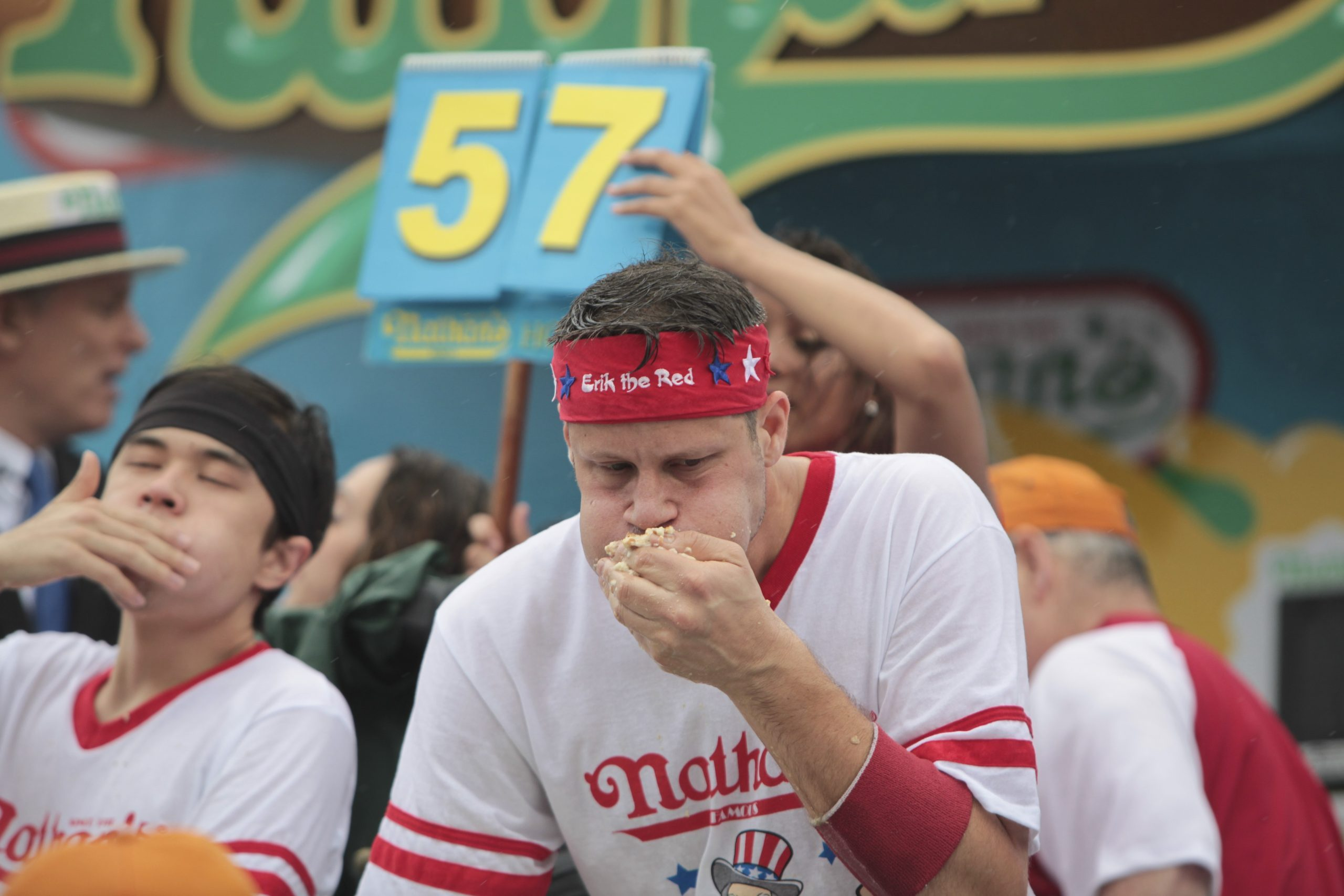 Nathan's Famous Fourth of July Hotdog Eating Contest