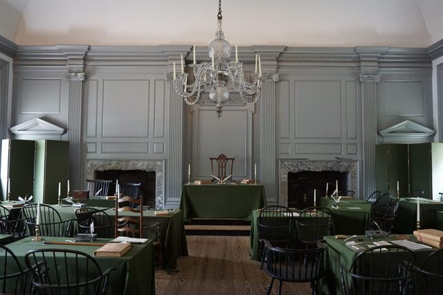 indepence hall room