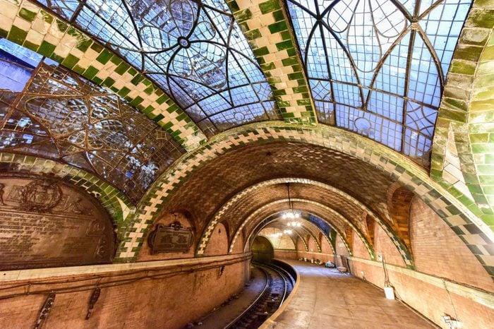 City Hall Subway Station in Manhattan