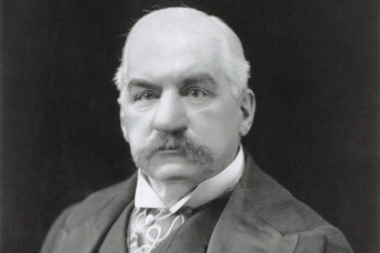 J.P. Morgan Portrait