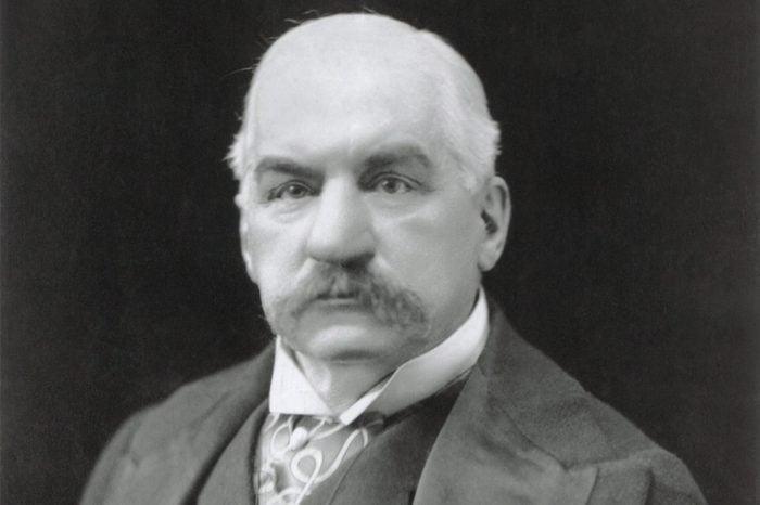 J.P. Morgan Portrait