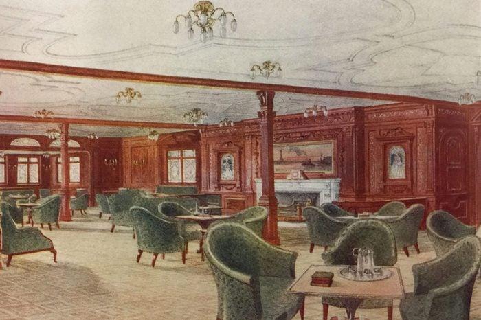 titanic smoke room