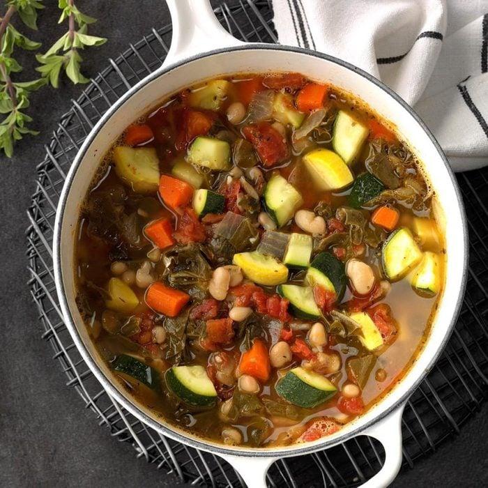 Swiss Charred Bean Soup