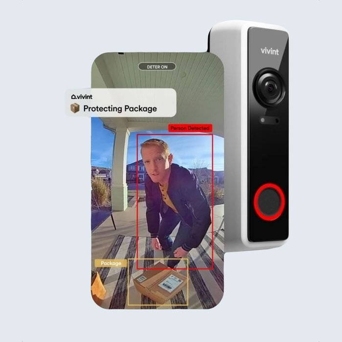 Best for protecting deliveries: Vivint Doorbell Camera Pro