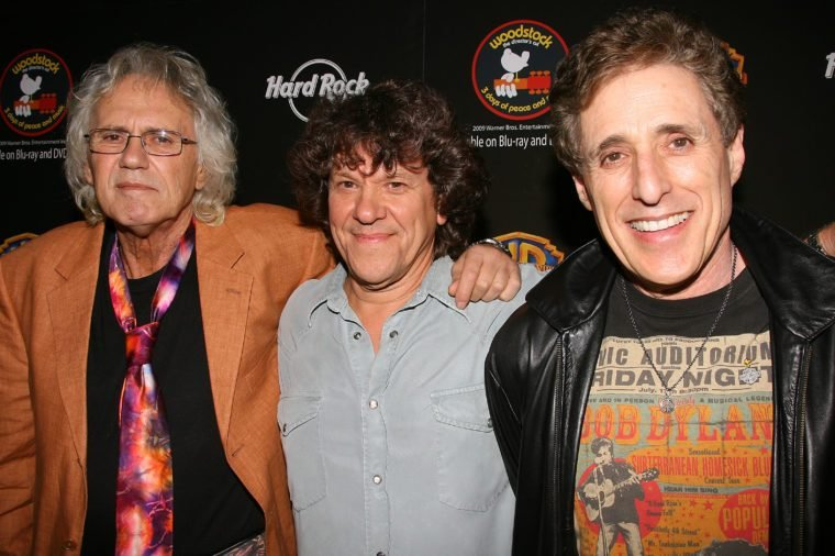 Artie Kornfeld, Michael Lang and Joel Rosenman