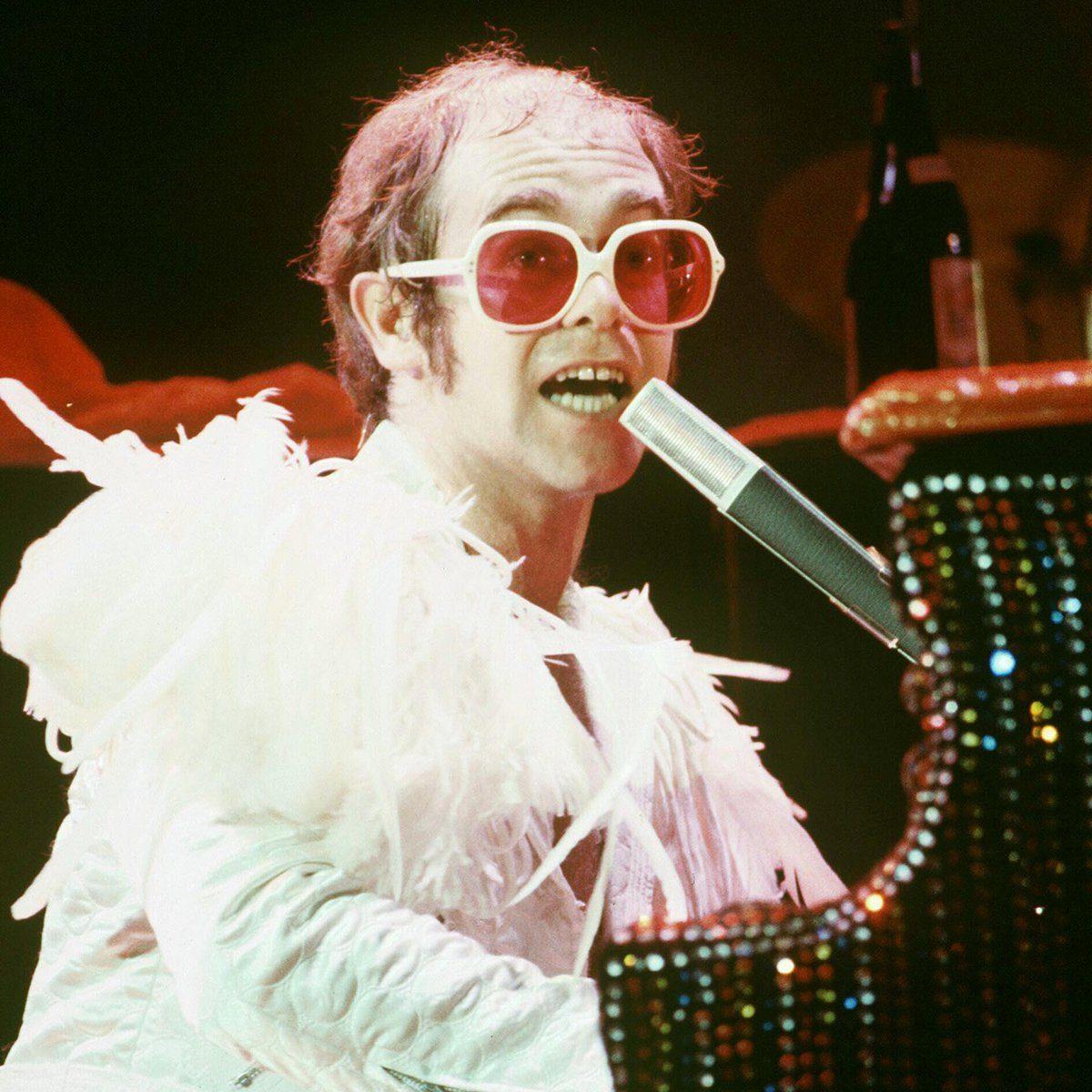 Mandatory Credit: Photo by Alan Messer/Shutterstock (371750o) Elton John Various