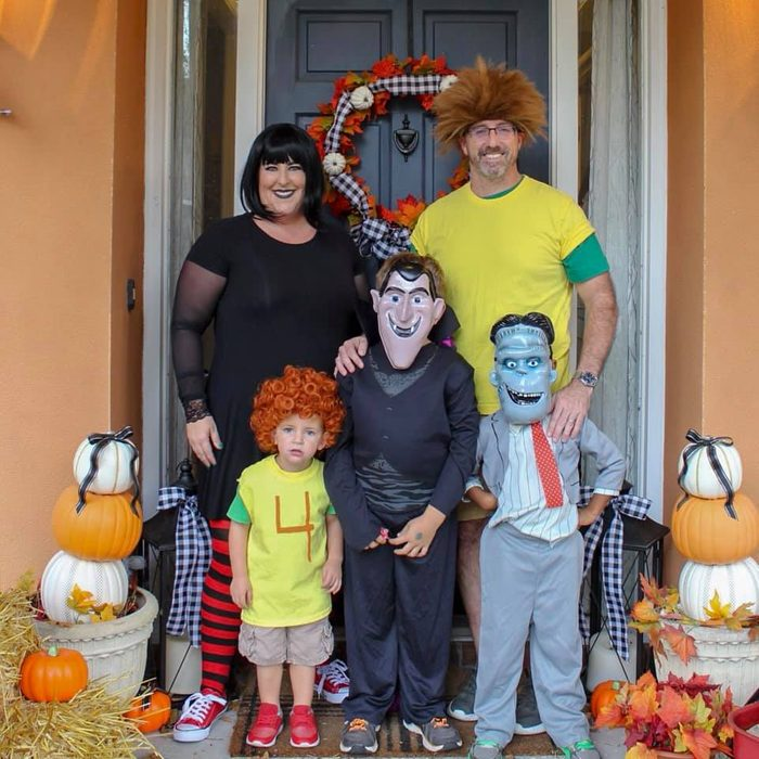 family halloween costume ideas monsters