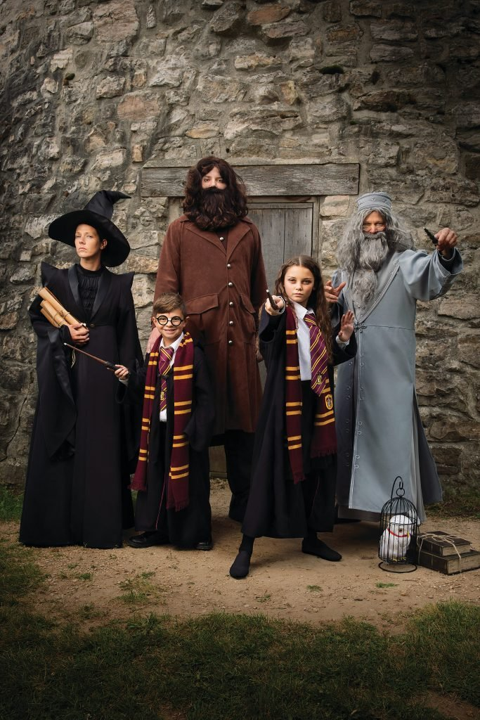 family costume halloween idea ideas harry potter wizards