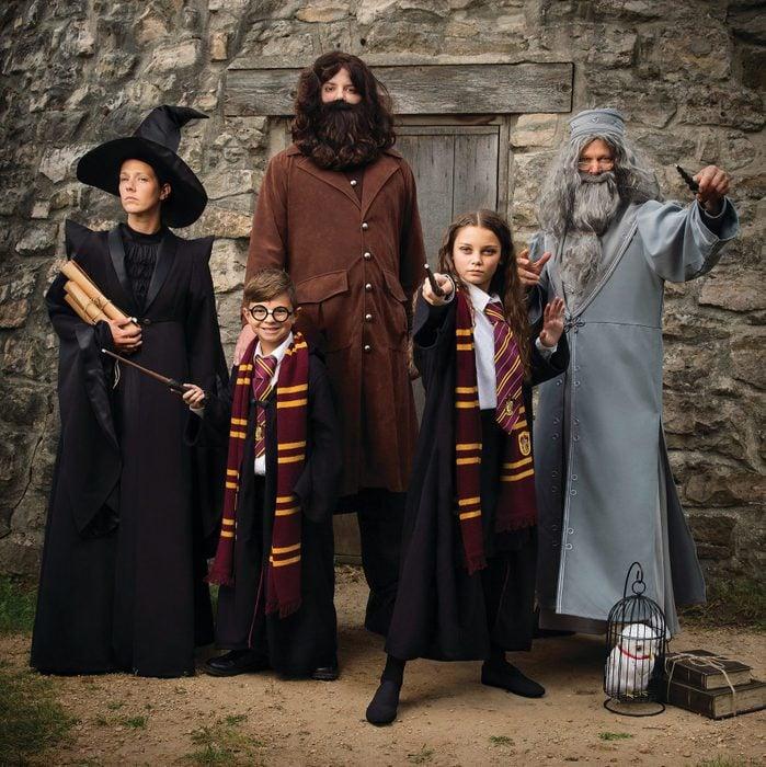 family costume halloween idea ideas harry potter wizards