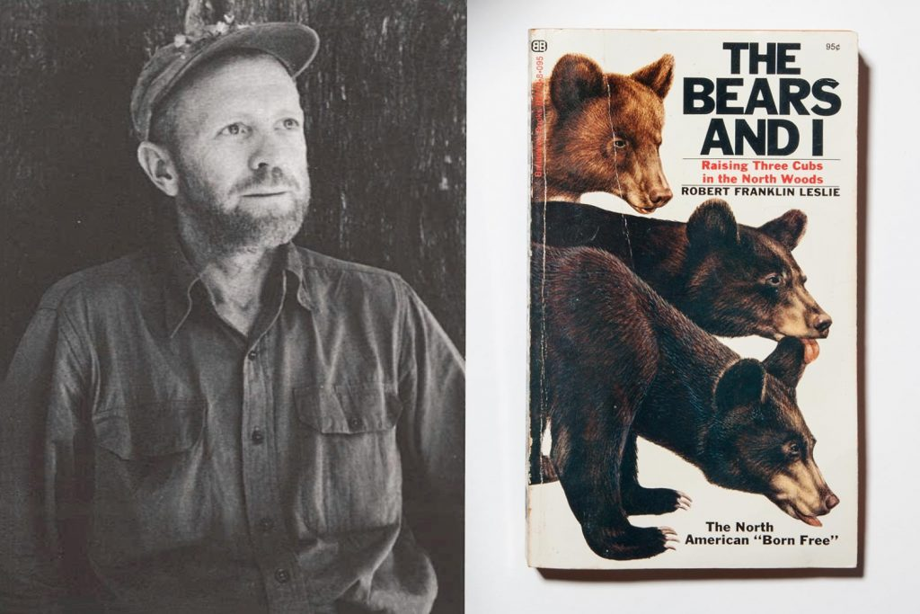 robert franklin leslie the bears and i book author