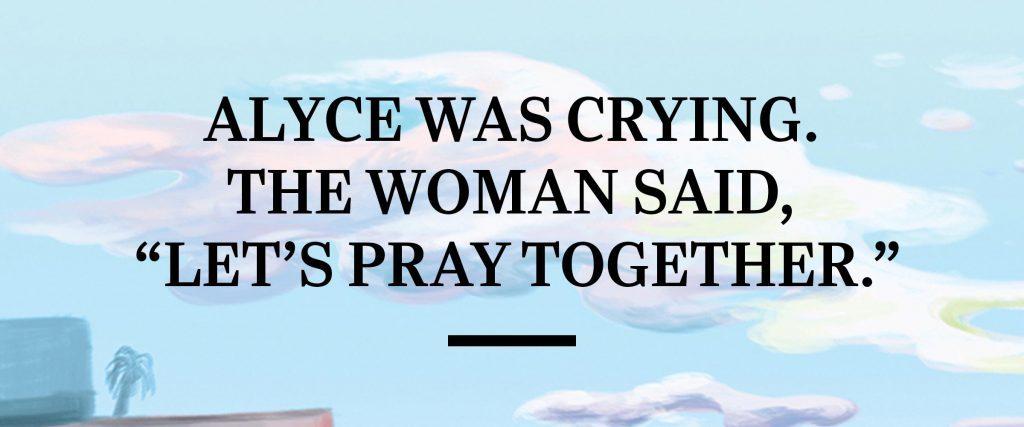 bus crash angel susan douglas alyce pray prayer
