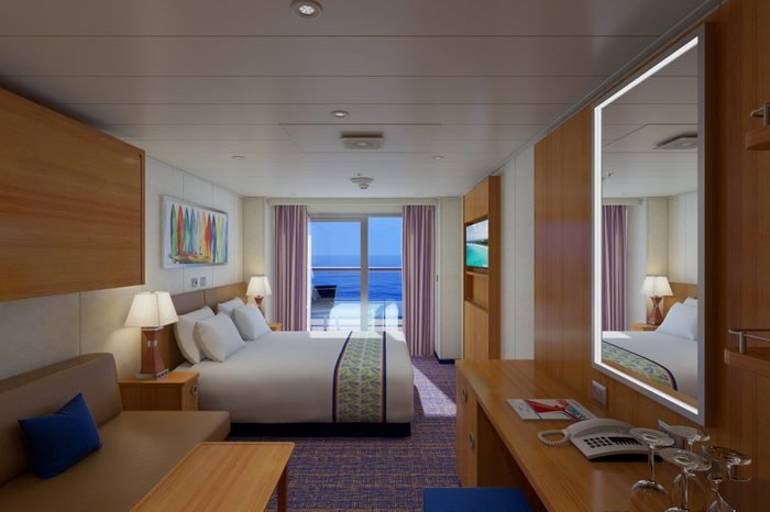 carnival balcony room