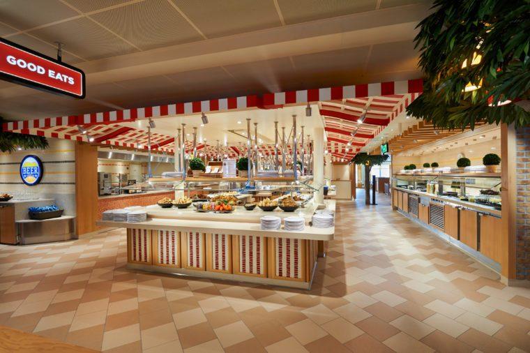 carnical cruise marketplace buffet