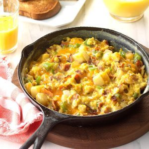 7 Egg Dishes That'll Put Your Cast-Iron Skillet to Work