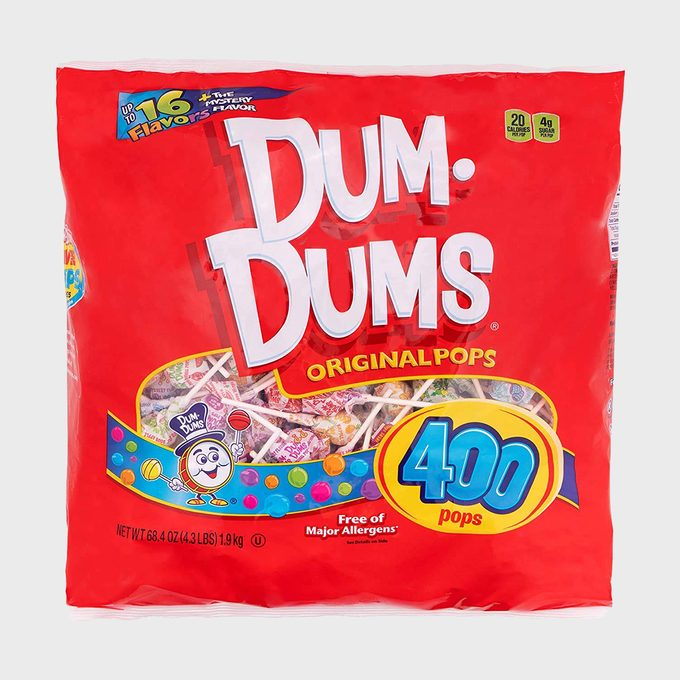 Dum Dums Original Pops 400 Count Bag