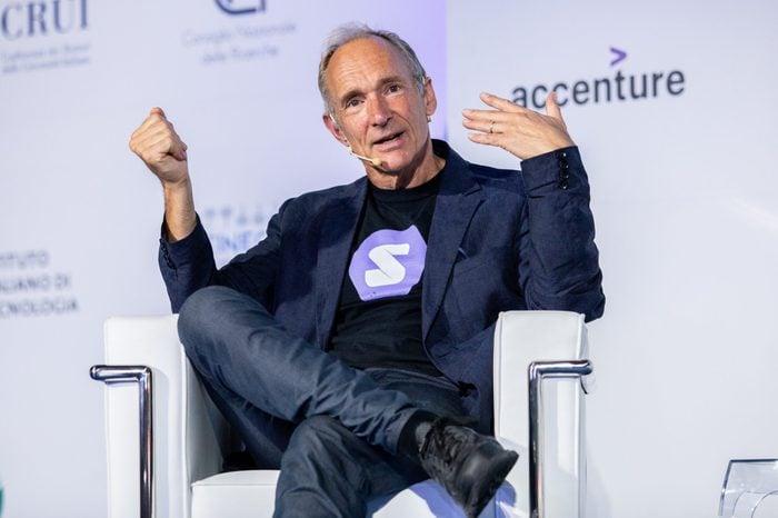 Sir. Tim Berners-Lee