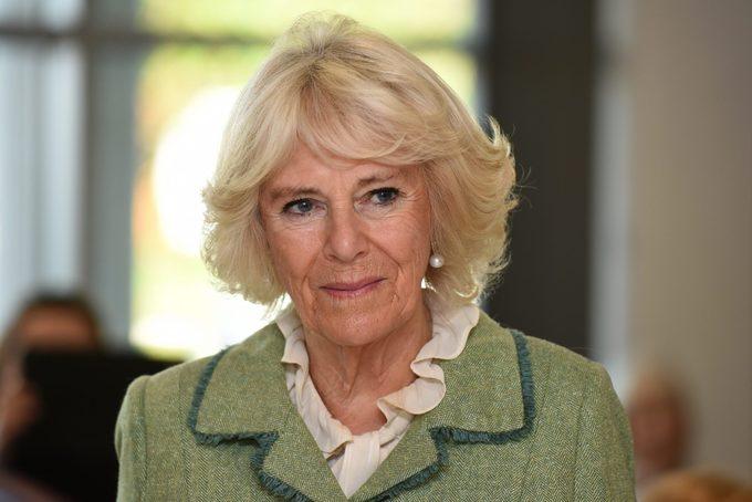 Camilla, Duchess Of Cornwall Visits Bath