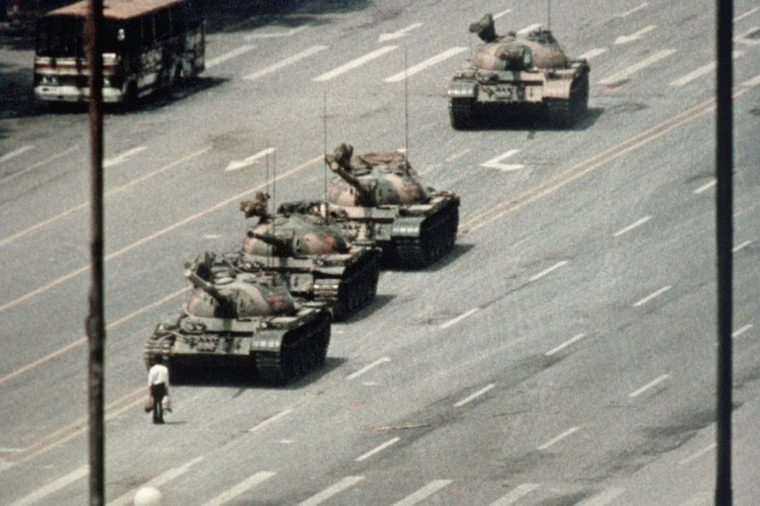 Tiananmen Tank Man china