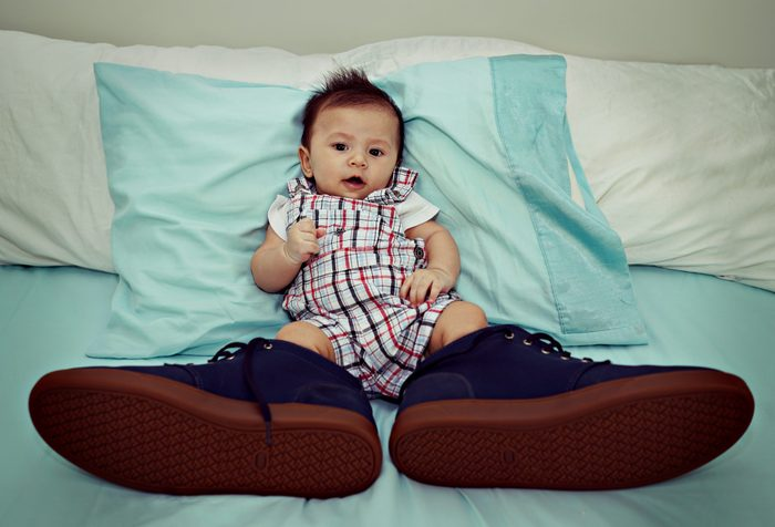 little baby big shoes