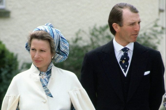 Princess Anne and Captain Mark Philips