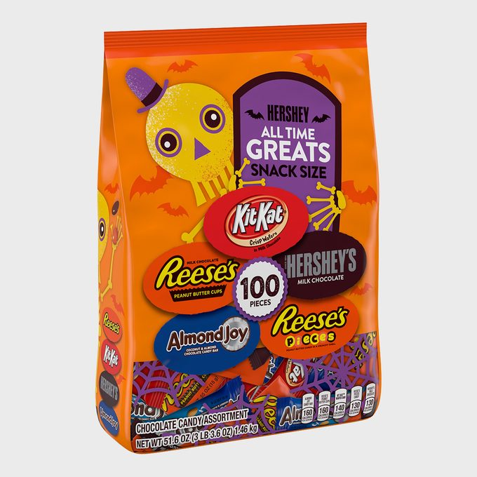 Hershey All Time Greats Assorted Chocolate Snack Size Variety Bag
