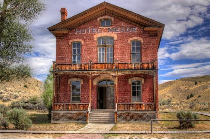 Hotel Meade Bannack State Park Montana