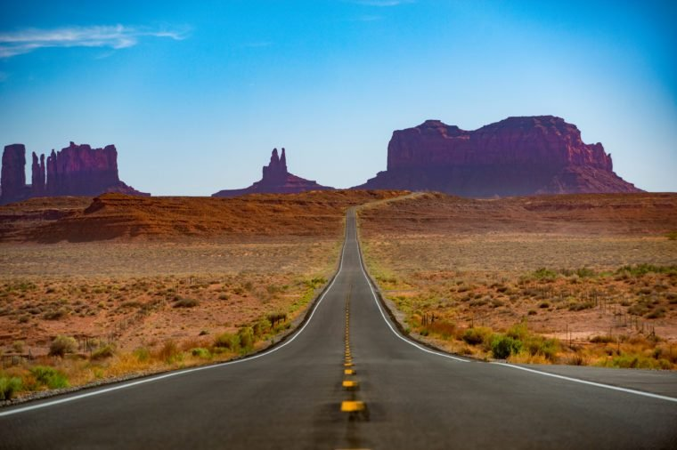 Monument Valley Road/Views