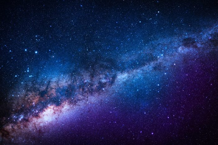 Blue Stanfield - Elements of this Image Furnished by NASA