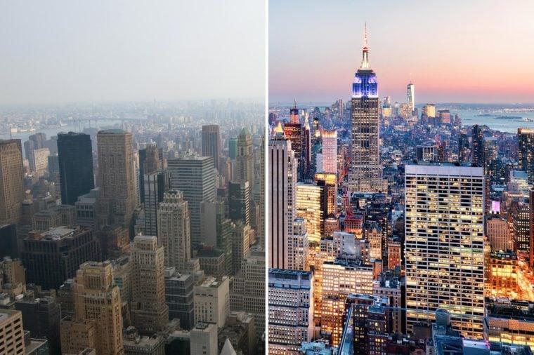 Smog v New Yorku