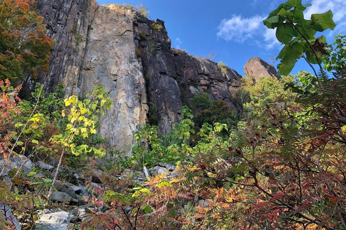 The Cliffs at Palisade Interstate Lookout in New Jersey