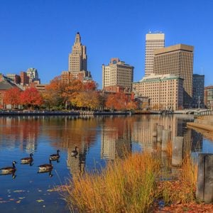 Fall Foliage in Providence, Rhode Island