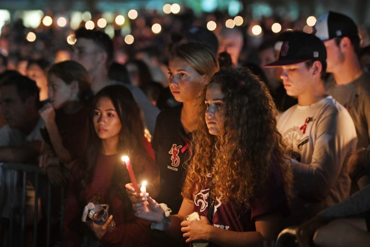 aftermath of Stoneman Douglas High School Shooting