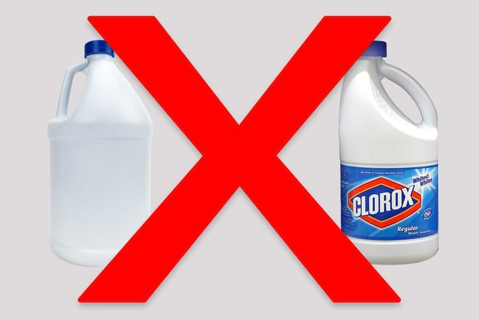 products dont mix ammonia bleach