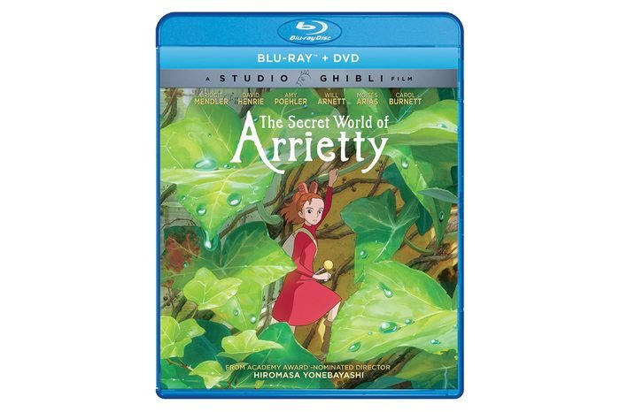 secret world of arrietty dvd
