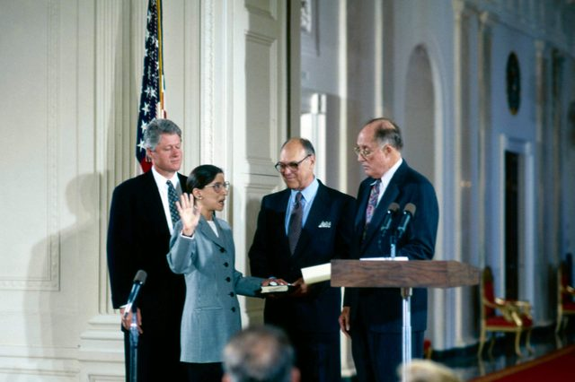 Supreme Court Justice Swearing