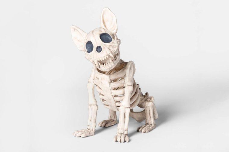 target spooky decor decorations french bulldog frenchie skeleton