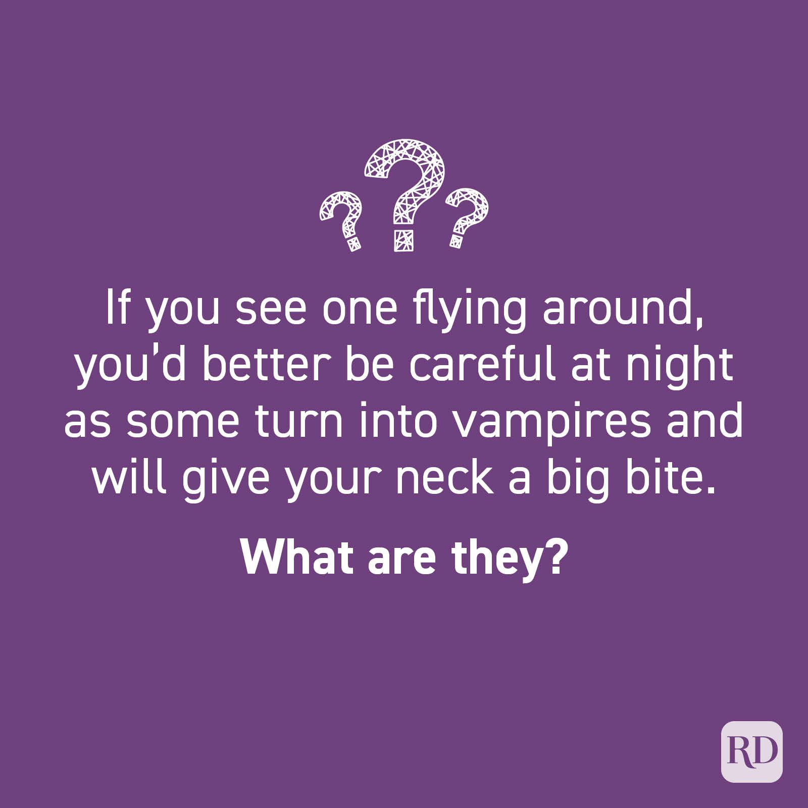 Halloween riddle