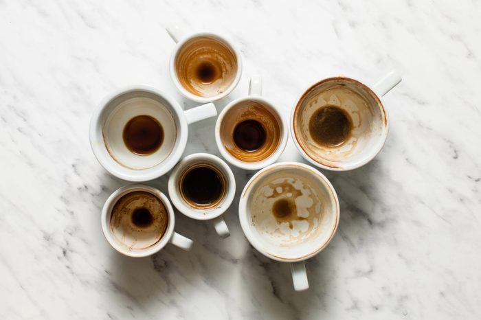 Dirty cups of coffee afterparty