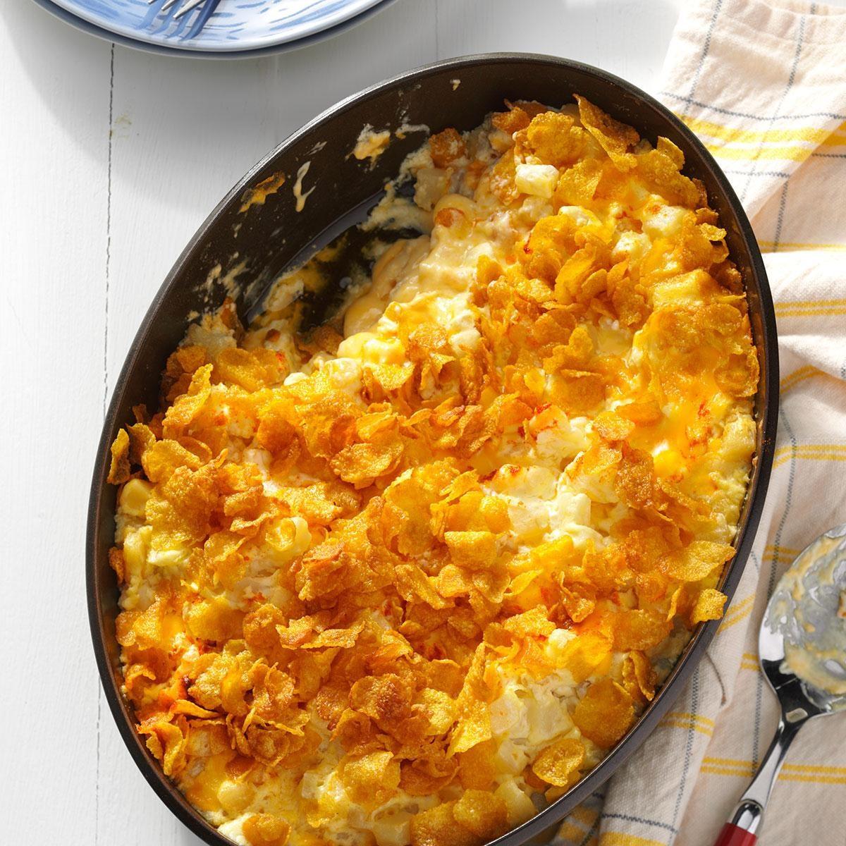 Oklahoma: Creamy Hash Brown Casserole