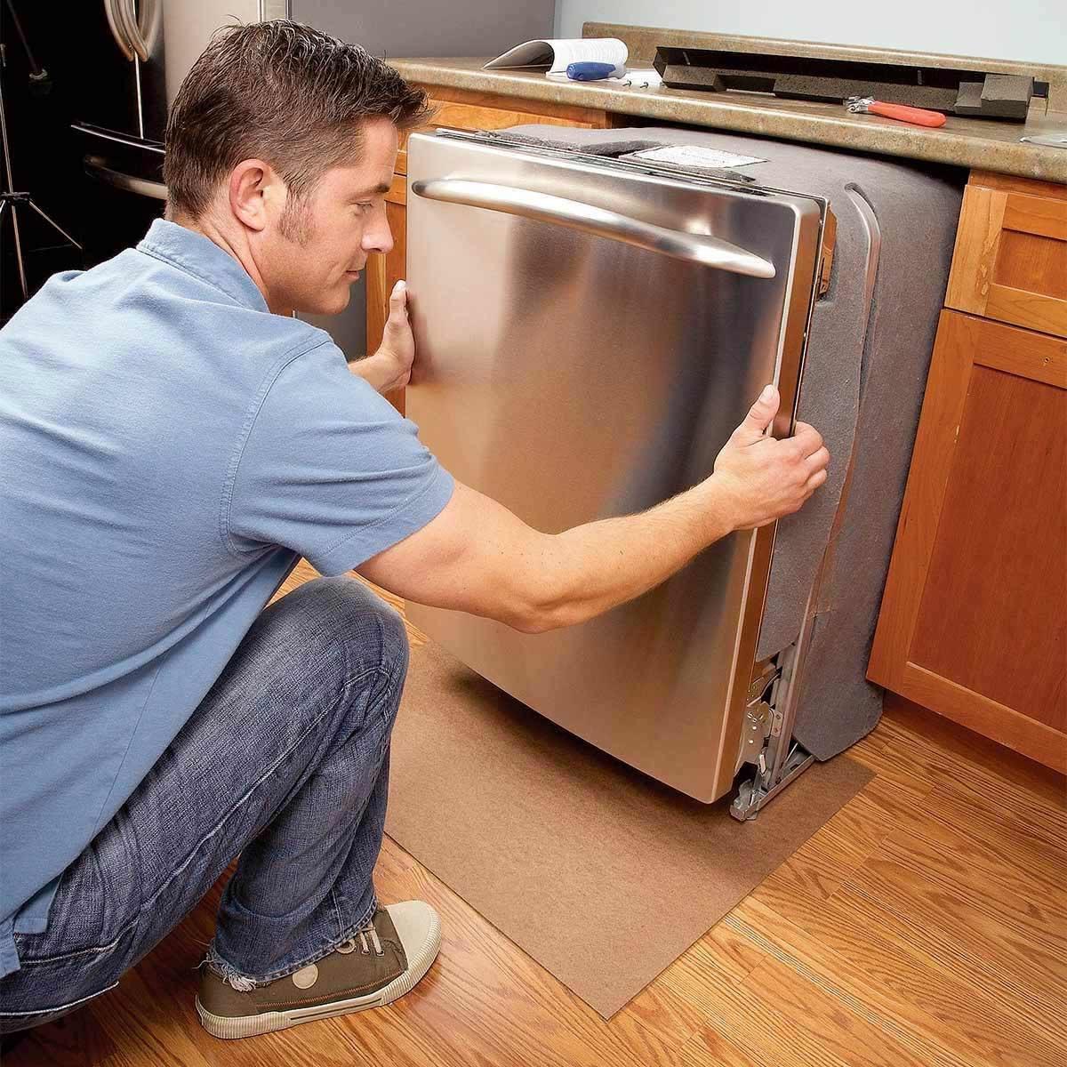 Dishwasher removal installation