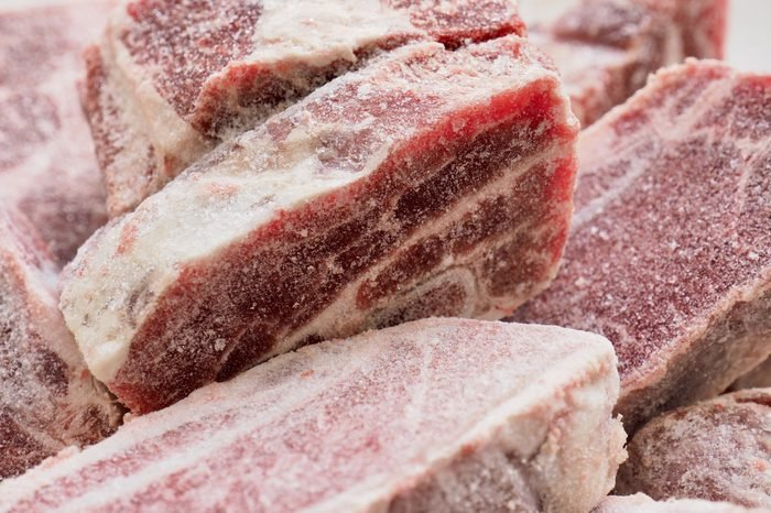 frozen beef ribs, Frozen beef meat