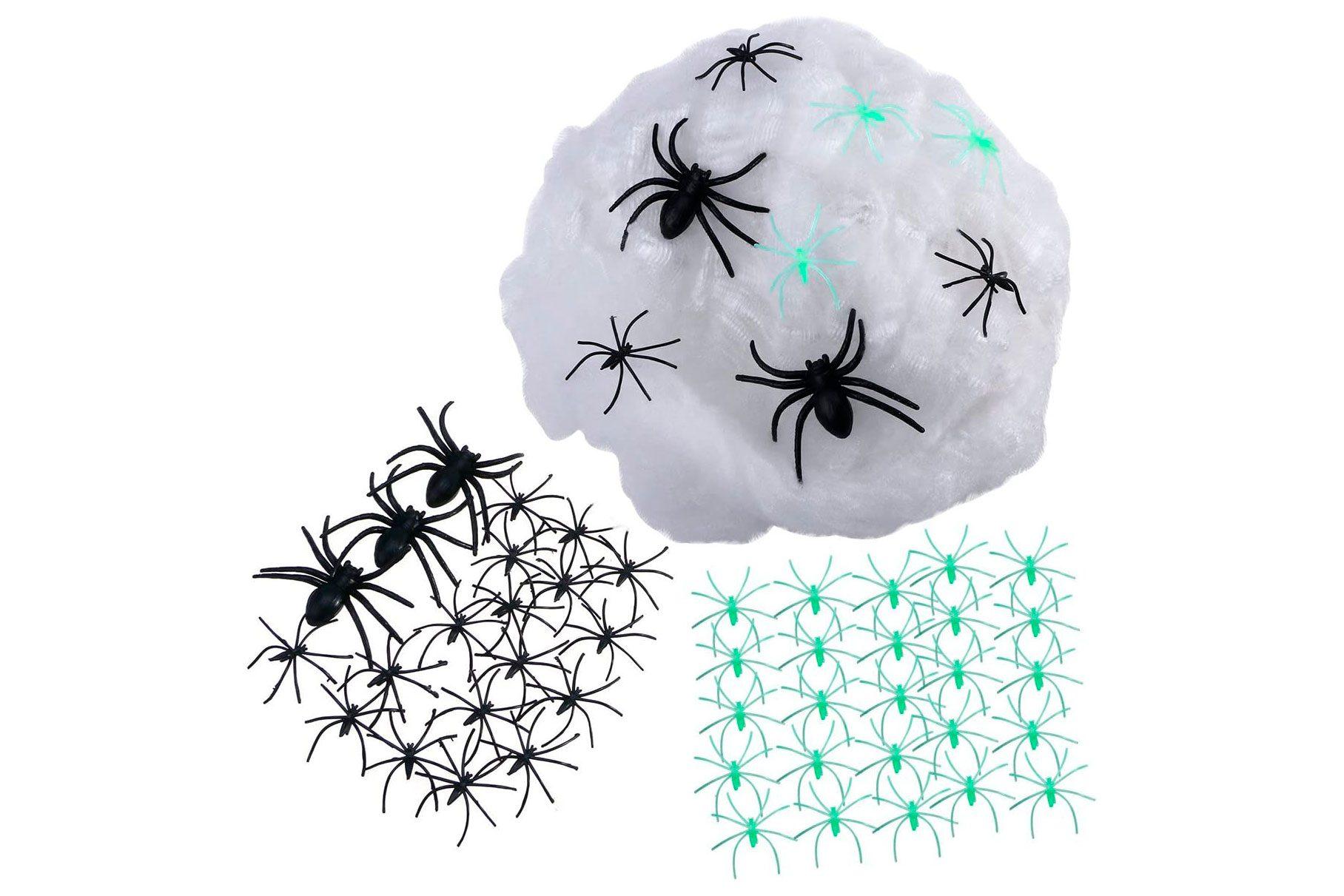 halloween spider web decor